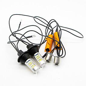 저렴한 Car Signal Lights-SO.K 2pcs T20(7440,7443) / BA15S(1156) / BAU15S 차 전구 50 W SMD 2835 400 lm 42 LED 방향 지시등 제품 유니버셜 모든 년도