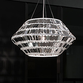 preiswerte Modern Beleuchtung-ZHISHU 6-Licht Geometrisch / Neuartige Pendelleuchten Raumbeleuchtung Galvanisierung Metall Ministil, Kreativ 110-120V / 220-240V