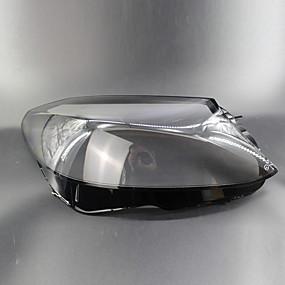 billige Dekorasjon til billampe-2pcs Bil Billysdeksler Transparent Nytt Design til Hodelykt Til Mercedes-Benz 2015 / 2016 / 2017