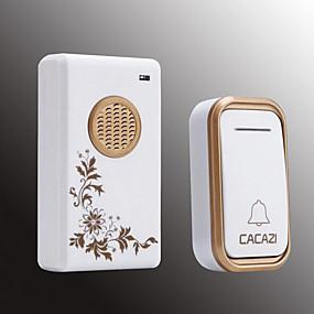 cheap Doorbell Systems-Smart Home Wireless Doorbell Exchange Digital Music Doorbell Long Distance Waterproof Wireless Remote Control Doorbell Launcher IP44 Waterproof One For One