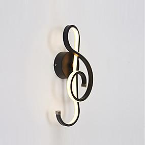 preiswerte Haus & Garten-KAKAXI Kreativ / Neues Design LED / Neuheit Wandlampen Studierzimmer / Büro / Shops / Cafés Aluminium Wandleuchte 85-265V 22 W