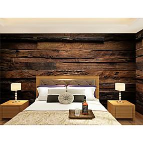 preiswerte 9. Jubiläums - Angebote-Tapete / Wandgemälde Segeltuch Wandverkleidung - Klebstoff erforderlich Art Deco / Muster / 3D