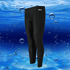 cheap Surfing, Swimming & Diving-BANFEI Men's Dive Skin Leggings Bottoms UV Sun Protection Quick Dry High Elasticity Swimming Surfing Snorkeling Patchwork Autumn / Fall Winter Spring / Summer