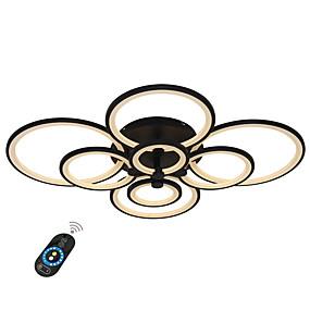 preiswerte 50% OFF-ecolight ™ geometrische lineare Einbauleuchten mit Ambientelichtlackierung Metall Acryl dimmbar, LED 110-120 V / 220-240 V warmweiß / kaltweiß / dimmbar mit Fernbedienung