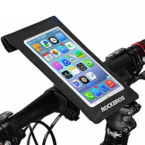preiswerte Fahrradlenkertaschen-ROCKBROS Fahrradlenkertasche Touchscreen Wasserdicht Einfach zu installieren Fahrradtasche Nylon Tasche für das Rad Fahrradtasche Radsport Radsport / Fahhrad