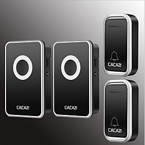 cheap Doorbell Systems-Wireless Two to Two Doorbell Music / Ding dong Non-visual doorbell