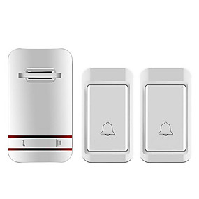 cheap Doorbell Systems-Factory OEM Wireless Two to One Doorbell Music / Ding dong Non-visual doorbell