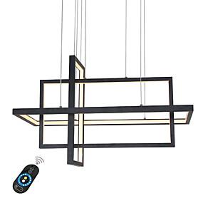 povoljno Egyet fizet kettőt kap-umei geometrijski luster ambijentalno svjetlo obojava aluminij 110-120v / 220-240v bijelo / zatamnjen daljinskim upravljačem / wi-fi smart / fcc