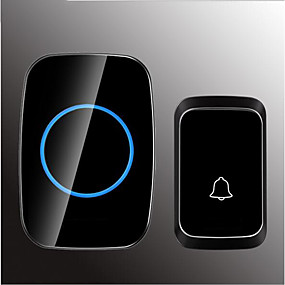 cheap Doorbell Systems-Wireless One to One Doorbell Music / Ding dong Non-visual doorbell Surface Mounted