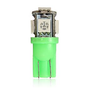 preiswerte Kennzeichenbeleuchtung-t10 194 168 2825 5smd 5050 led grün super helle keil lampenlampe