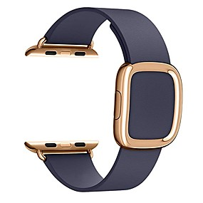 preiswerte Smartwatch-Bands-Uhrenarmband für Apple Watch Series 5/4/3/2/1 / Apple Watch Series 4 Apple Moderne Schnalle Echtes Leder Handschlaufe