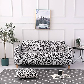 cheap Slipcovers-Sofa Cover Multi Color / Neutral Printed Polyester Slipcovers