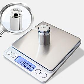 رخيصةأون اكتشف-0.01 جرام -500 جرام المحمولة ميني الإلكترونية الرقمية مقياس الجيب حالة البريدية عالية الدقة مطبخ مجوهرات الوزن