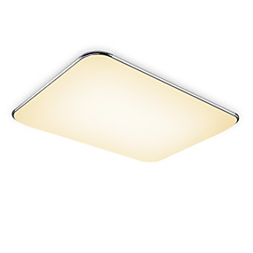 cheap Ceiling Lights & Fans-1-Light 65 cm Eye Protection / Dimmable Flush Mount Lights Aluminum Painted Finishes Contemporary / Chic & Modern 220-240V / FCC
