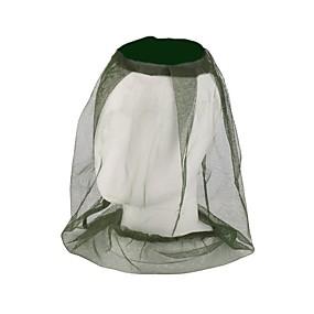 preiswerte Gartengeräte - Set-Mücke Moskito Bug Insektennetz Biene Mesh Kopf Gesicht Beschützer Jagd Hut Camping Wandern Absicherung Anti-Moskito-Kappe