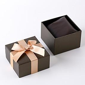 preiswerte Uhrenbox-Uhren Etuis Fasergemisch Uhren Zubehör 0.04 kg Kreativ / Neues Design / Praktisch