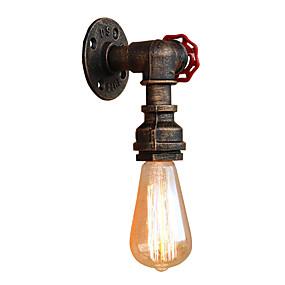 preiswerte Befestigungen für Beleuchtung-Ministil / Rohr Einfach / Retro / Vintage Wandlampen Wohnzimmer / Korridor Metall Wandleuchte 110-120V / 220-240V 60 W