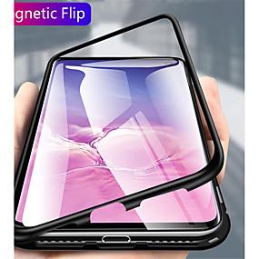 povoljno Maske za mobitele-Θήκη Za Samsung Galaxy S9 / S9 Plus / Galaxy S10 Prozirno Korice Jednobojni Tvrdo Metal