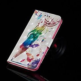 povoljno Maske za mobitele-Θήκη Za Samsung Galaxy S9 / S9 Plus / S8 Plus Novčanik / Utor za kartice / sa stalkom Korice Uljane slike Tvrdo PU koža