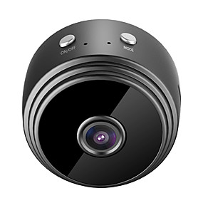 economico Telecamere di sorveglianza-HQCAM HDMINICAM APP 25fps Wireless Camera P2P IP Mini Cam WIFI Camera 1080P Night Vision Motion Detection 2 mp Videocamera IP Al Coperto Supporto 64 GB / CMOS / Senza filo / 50 / 60 / SO iPhone