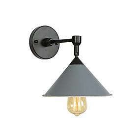 preiswerte Beleuchtung-Neues Design / bezaubernd Einfach / Moderne zeitgenössische Wandlampen Wohnzimmer / Schlafzimmer Metall Wandleuchte 110-120V / 220-240V 60 W