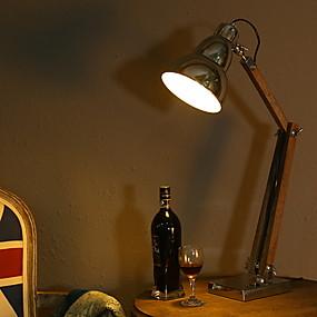 preiswerte Schreibtischlampen-Moderne zeitgenössische Neues Design Schreibtischlampe Für Schlafzimmer / Drinnen Metall 220v