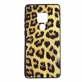 povoljno Maske za mobitele-Θήκη Za Huawei Mate 10 / Huawei Mate 20 pro / Huawei Mate 20 Uzorak Stražnja maska Uzorak leoparda Mekano silika gel
