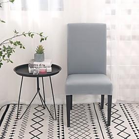 preiswerte Schonbezüge-Stuhlabdeckung Solide Reaktivdruck Polyester Überzüge