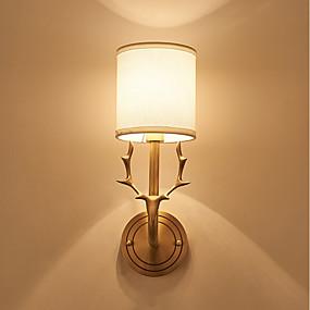 preiswerte Renovierung-JLYLITE Ministil Moderne zeitgenössische / Traditionell-Klassisch Wandlampen Wohnzimmer / Studierzimmer / Büro Metall Wandleuchte IP44 110-120V / 220-240V