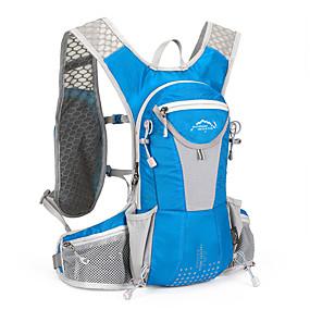 preiswerte Trinkrucksäcke & Wasserblasen-12 L Radfahren Rucksack Rucksack Radfahren Outdoor Reise Fahrradtasche Nylon Tasche für das Rad Fahrradtasche