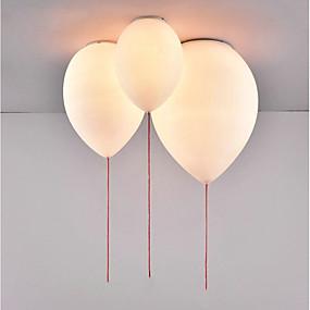 povoljno Stropna svjetla i ventilatori-Glob Flush Svjetla Downlight Metal Glass Kreativan, New Design 110-120V / 220-240V