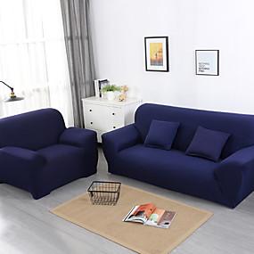 preiswerte Textilien für Zuhause-Sofabezug Solide Pigment Druck Polyester Überzüge