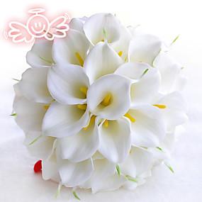 economico Bouquet sposa-Bouquet sposa Bouquet Ricevimento di matrimonio Schiuma 11-20 cm
