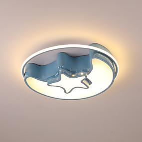 preiswerte Kinderzimmer-Einbauleuchten Metall 110-120V / 220-240V Weiß / Dimmbar mit Fernbedienung / Warmes Weiß + Weiß