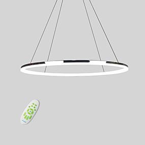 povoljno Viseća rasvjeta-Lightinthebox Cirkularno Privjesak Svjetla Downlight Electroplated Metal Acrylic Mini Style, LED 110-120V / 220-240V Meleg fehér / Hladno bijela / Zatamnjen daljinskim upravljačem Uključen je LED