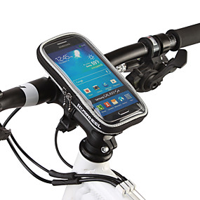 preiswerte ROSWHEEL®-ROSWHEEL Handy-Tasche Fahrradlenkertasche 5.5 Zoll Touchscreen Radsport für Samsung Galaxy S6 iPhone 5c iPhone 4/4S Schwarz Orange Radsport / Fahhrad / iPhone X / iPhone XR / iPhone XS