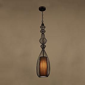 povoljno Viseća rasvjeta-CONTRACTED LED® Geometrijski / Fenjer Privjesak Svjetla Downlight Slikano završi Metal Zaštita očiju, New Design 110-120V / 220-240V