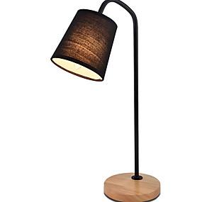 preiswerte Beleuchtung mit Stil-Moderne zeitgenössische Neues Design Schreibtischlampe Für Schlafzimmer / Drinnen Holz / Bambus 220v