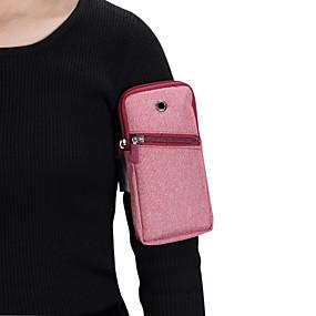 povoljno Maske za mobitele-Θήκη Za Blackberry / Apple / Samsung Galaxy Univerzális Sportska torbica za nadlakticu Torbica za nadlakticu / Vrećica Jednobojni Mekano Platno