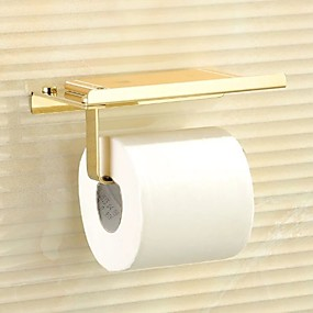 cheap Toilet Paper Holders-Toilet Paper Holder Premium Design / Cool Modern Stainless Steel 1pc Wall Mounted