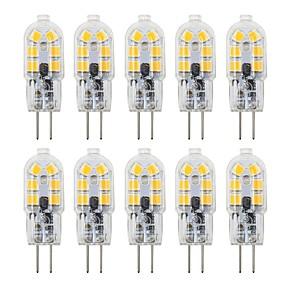 preiswerte Haus & Garten-10 Stück 3 W LED Doppel-Pin Leuchten 180 lm G4 T 12 LED-Perlen SMD 2835 lieblich 12 V