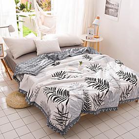 preiswerte Textilien für Zuhause-Gemütlich - 1 Stk. Steppdecke Sommer Baumwolle Schottenstoff / Kariert / Geometrisch / Mehrfarbig
