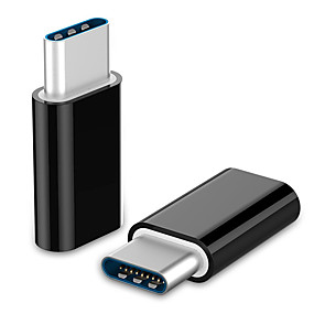 preiswerte Computer & Büro-LIFETONE USB 3.1 Typ C Adapter, USB 3.1 Typ C nach Micro USB 3.0 Adapter Male - Female 1080P Vernickelter Stahl 0,05m (0.15Ft) 5.0 Gbps