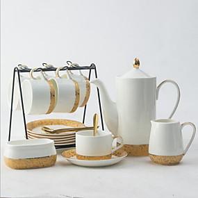 voordelige Koffie en Thee-Keramiek Creatief 15pcs Koffieketel Beker