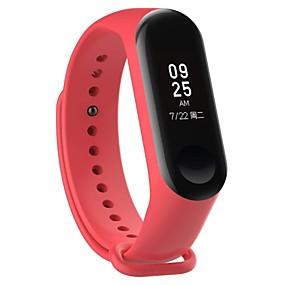 preiswerte Smartwatch-Bands-Uhrenarmband für Mi Band 3 Xiaomi Sport Band Caucho Handschlaufe