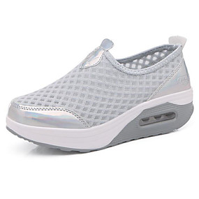 preiswerte Swing Shoes-Damen Gitter Sommer Sportschuhe Swing-Tanz Schuhe Creepers Grau / Rosa / Königsblau