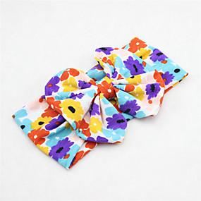 preiswerte Modische Accessories-Baby Mädchen Grundlegend / Süß Sonnenblume Blumen Kunstseide Haarzubehör Rosa / Marineblau / Regenbogen Einheitsgröße