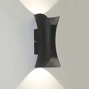 preiswerte Renovierung-Wasserfest / Ministil LED / Moderne zeitgenössische Draußen / Korridor Metall Wandleuchte IP 44 110-120V / 220-240V 5 W
