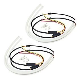 preiswerte Car Signal Lights-4pcs Kabelverbindung Auto Leuchtbirnen 10 W 1 LED Tagfahrlicht / Blinkleuchte Für Universal / Toyota / Mercedes-Benz Alle Modelle Alle Jahre