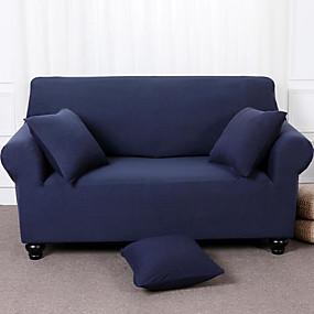 preiswerte Textilien für Zuhause-Schonbezüge Sofabezug einfarbig / mehrfarbig / pigmentiertes Polyester / hochelastischer Sofabezug
